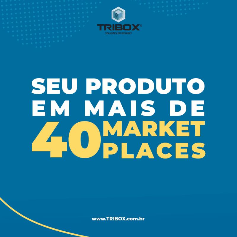 Seu produto em mais de 40 Marketplaces